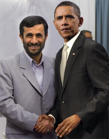 Ahmadinejad Obama