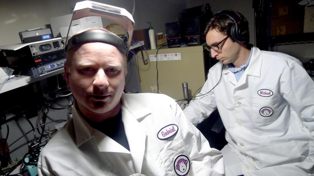 Lab Coats pose