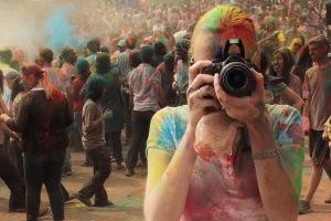 holi photographer