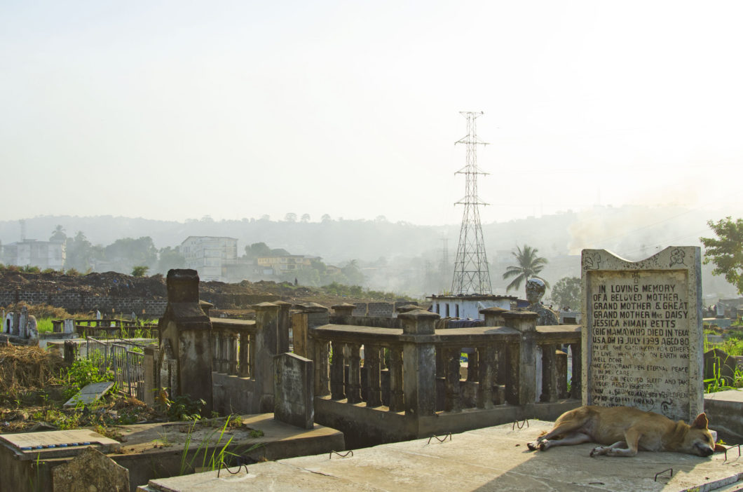 Freetown cemetery