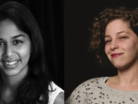 Aneri Pattani and Olga Kreimer, the newest TON/BWF early-career fellows.