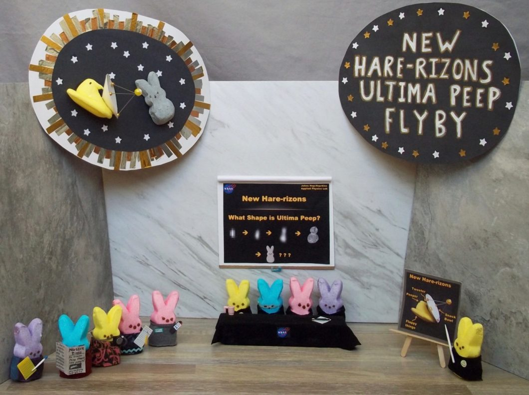 New Hare-rizons: Ultima Peep Flyby