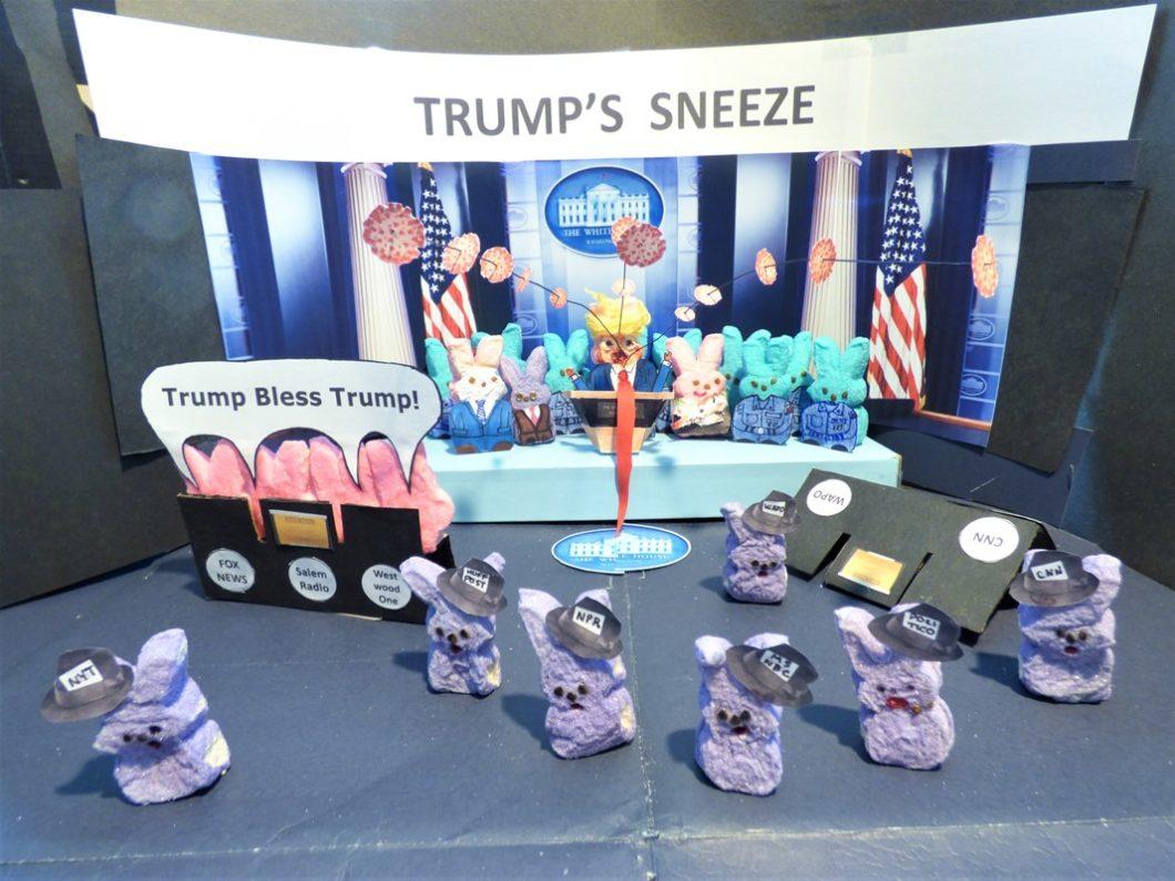 Diorama: Trump's Sneeze