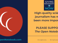 Please Help TON Support Science Journalism on #GivingNewsday